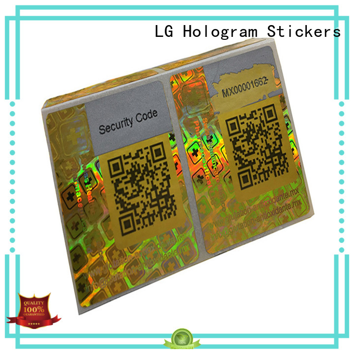 LG Printing colorful self adhesive paper stickers manufacturer for door