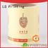 waterproof plastic stickers gold supplier for wine bottle