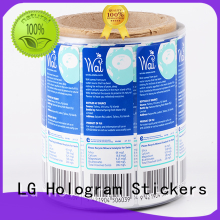 transparent sticker manufacturers pvc manufacturer for bottle