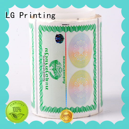 printing hologram overlay hologram factory for goods