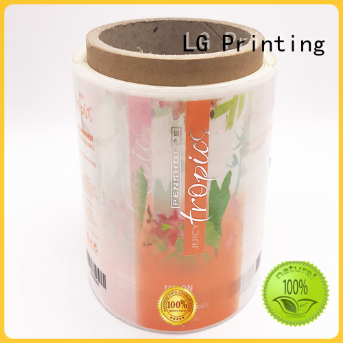 LG Printing printing label manufacturers factory for wine bottle
