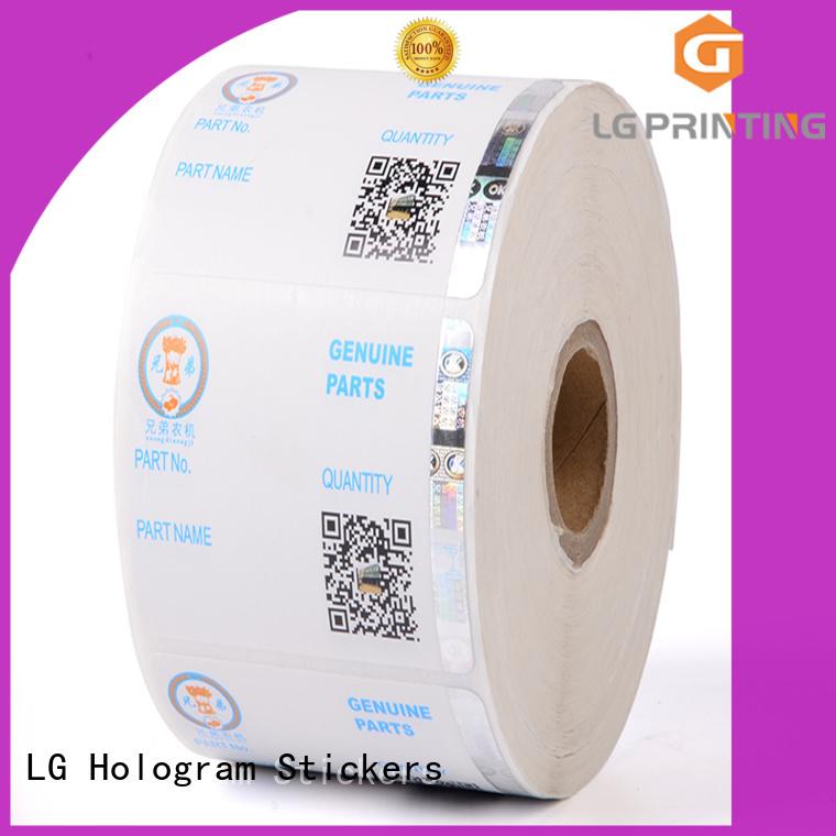 standard hologram sticker 122 factory for goods