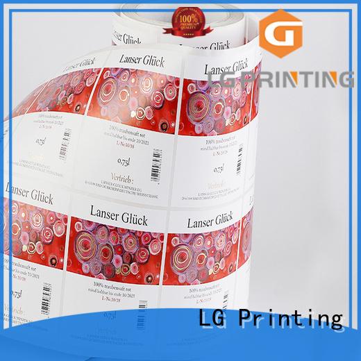LG Printing transparent label applicator series for jars