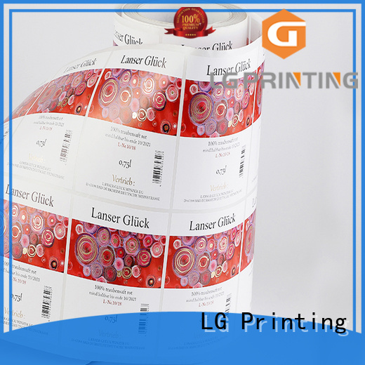 LG Printing transparent label applicator series for jars