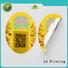 Quality LG Printing Brand 3d hologram sticker custom shape transparent