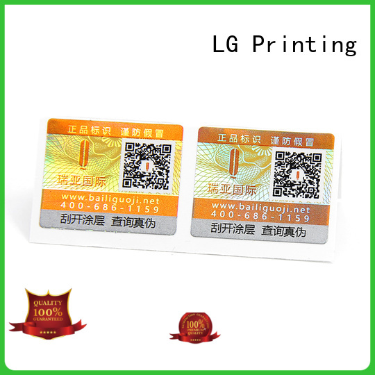 Top tamper proof stickers manufacturers for box