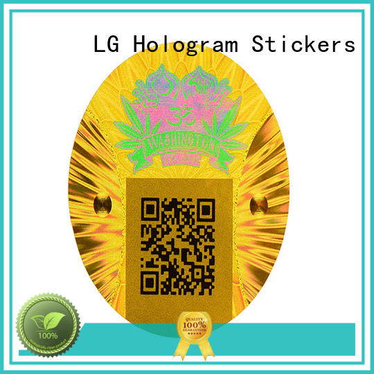 holographic vinyl stickers golden for refrigerator LG Printing