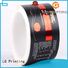 roll silver transparent LG Printing Brand self adhesive label factory