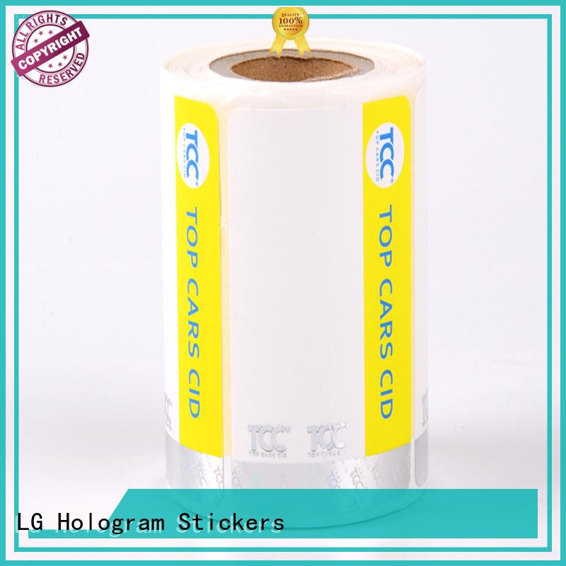 fake hologram sticker UV factory for bag