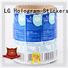 waterproof shipping label generator bopp supplier for cans