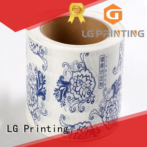 LG Printing red packaging law supplier for wine bottle