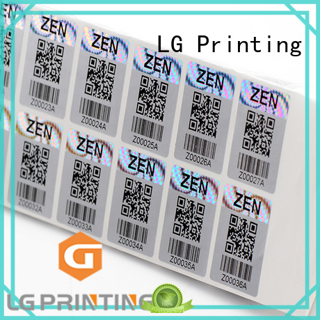 3d hologram sticker security Bulk Buy triangle LG Printing
