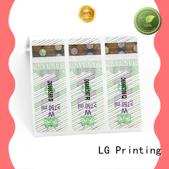 LG Printing label Supply for bag