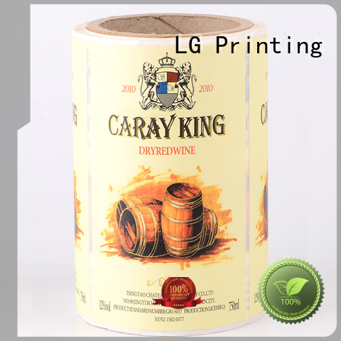 printing private label packaging silver manufacturer for bottle