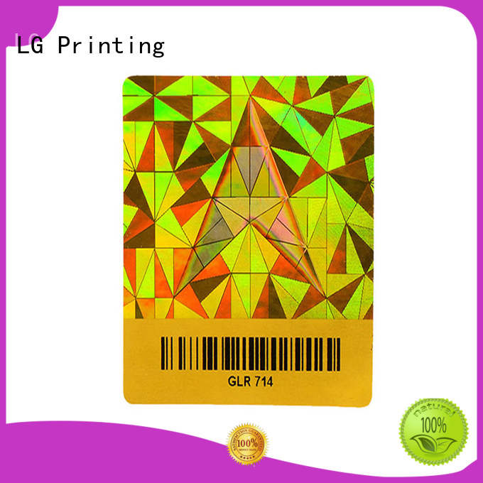 LG Printing various holographic shrink sleeves supplier for refrigerator