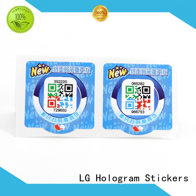 LG Printing custom sticker labels for jars factory for products