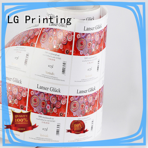 LG Printing silver packing machine supplier for wine bottle