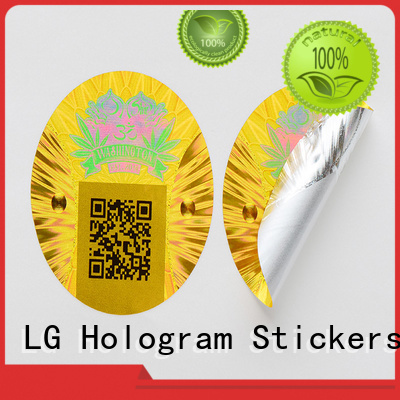 3d hologram sticker rectangle printing qr code Warranty LG Printing