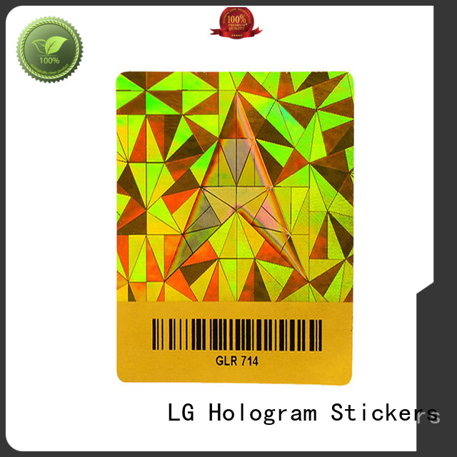 authentic hologram security label authentic manufacturer for box