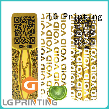 authentic hologram sticker printing manufacturer for table