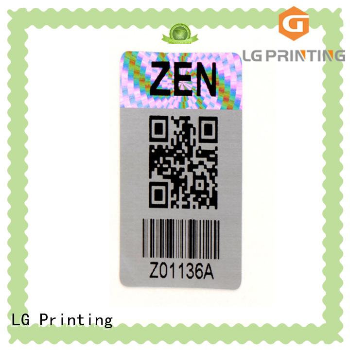 LG Printing security holographic strips manufacturer for box