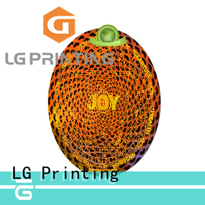 numbering void label manufacturer for box LG Printing
