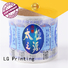 hologram retail packaging pvc manufacturer for cans