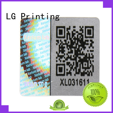 LG Printing round size of wine bottle label supplier for refrigerator
