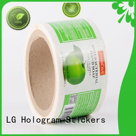 LG Printing pvc label applicator series for bottle