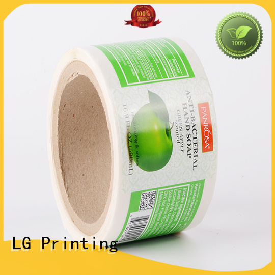 pvc sticker manufacturers series for cans