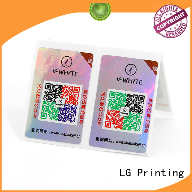 LG Printing brand protection solutions for business for products