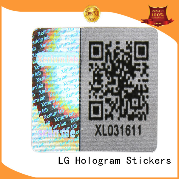 round self adhesive stickers barcode manufacturer for box
