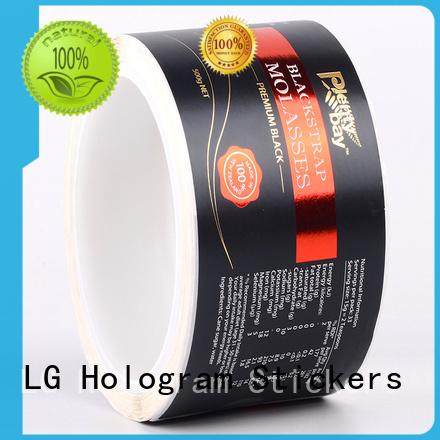 LG Printing waterproof food packaging requirements series for wine bottle