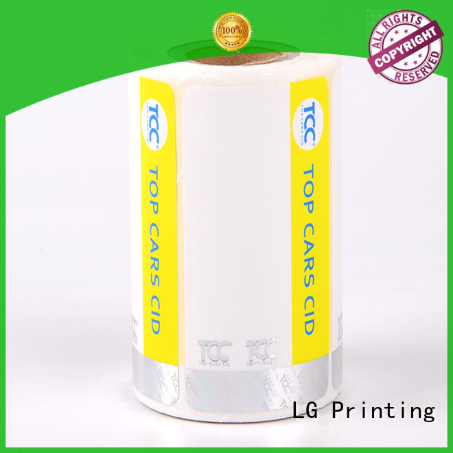 stamping holographic card UV series for bag