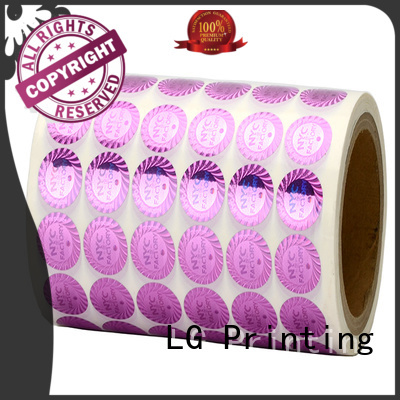 LG Printing stickers 3d hologram stickers manufacturer for door
