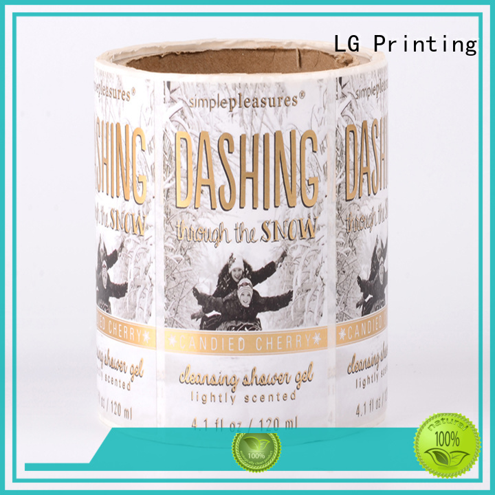 LG Printing printed agricultural packaging materials supplier for wine bottle