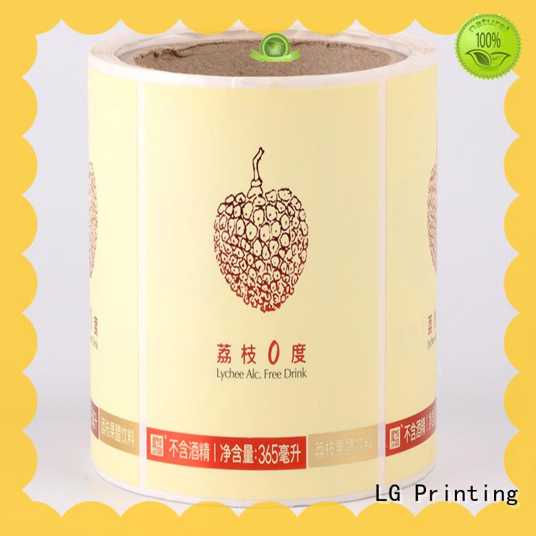 quality label remover bopp manufacturer for jars