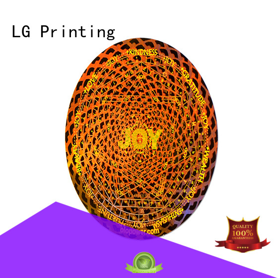 custom hologram barcode for door LG Printing