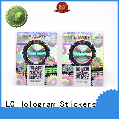 LG Printing labels for jars company for bag