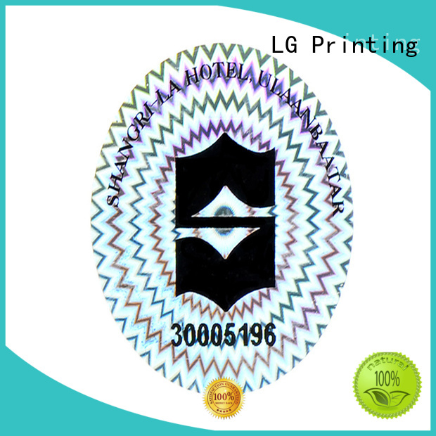LG Printing authentic perishable stickers series for door