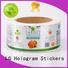 jar adhesive labels printed labels silver LG Printing company