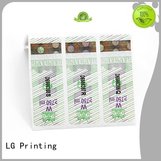 LG Printing Top corporate brand protection Supply for bag