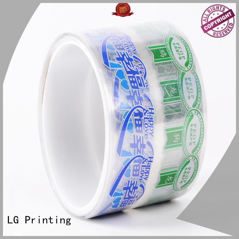 wine adhesive labels foil LG Printing company