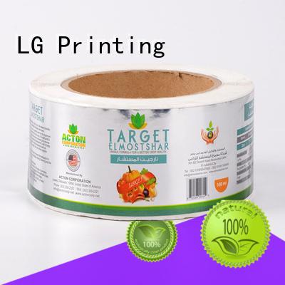 LG Printing hologram packaging companies manufacturer for bottle