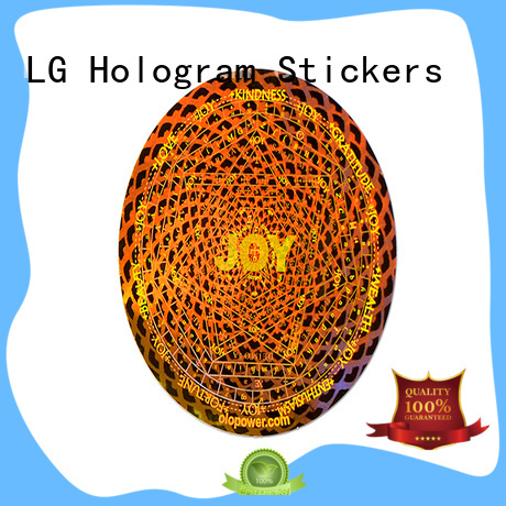 LG Printing scratched perforated label paper manufacturer for box