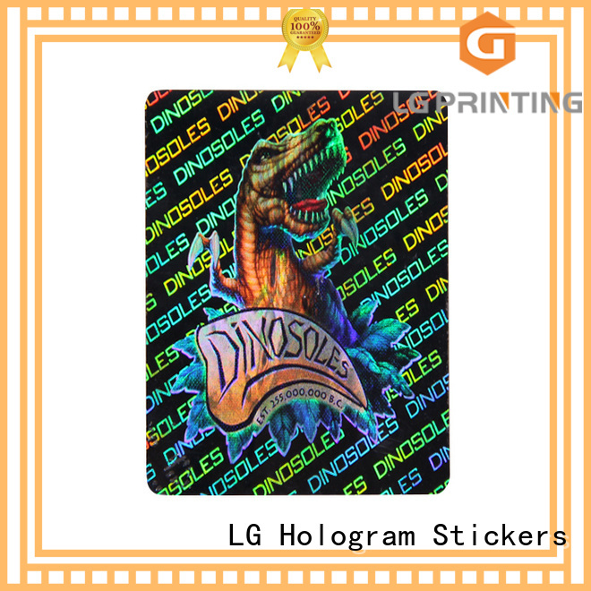 colorful create hologram sticker silver series for box