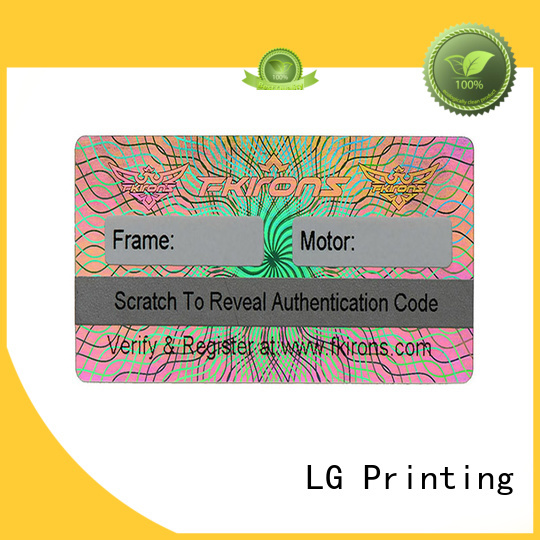 colorful order business cards and stickers barcode label for table
