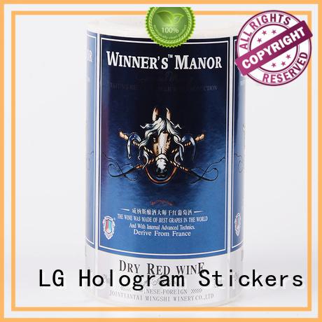 self adhesive label transparent waterproof Bulk Buy pvc logo LG Printing