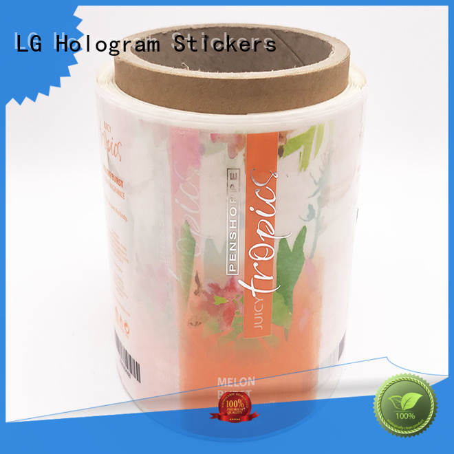 LG Printing quality shipping label generator manufacturer for wine bottle