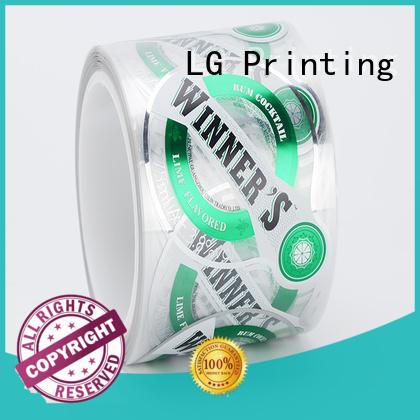 LG Printing foil flexible packaging material series for jars